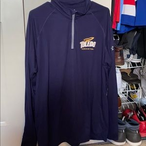 University of Toledo Quarter Zip. Size XL